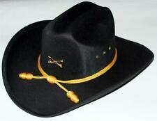 Union Us Cavalry Civil War Crossed Sabers Officers Slouch Hat w/ Yellow Cord New