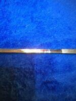 1900'S STERLING SILVER TELESCOPING RETRACTABLE SLIDING RULER PENCIL Germany