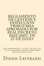 Reglamento de Gestión e Inspección Tributaria Aprobado Por Real Decreto...