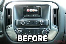 """2014-2015 SILVERADO SIERRA TRUCK 4"""" IO4 to 8"""" IO6 HMI GPS NAVIGATION RADIO!"""