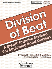 """""""Division Of Beat"""" Music Book-1A-Beginning-Clarine t-Brand New On Sale-Band!"""