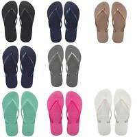 Havaianas Slim Women Mint Green Rubber Sandals Size 3 - 8