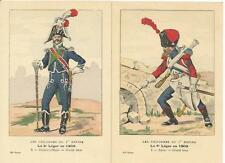 Cdt BUCQUOY - UNIFORMES 1er EMPIRE - Série 69 - Le 8° de LEGER en 1809