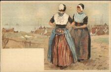 Holland Native Dutch People H. Cassiers c1900 Postcard URK