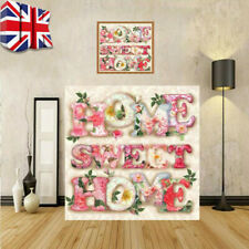 Sweet Home 5D DIY Drill Diamond Painting Art Cross Stitch Kit Decor Embroidery