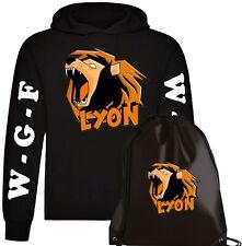 Felpa LYON WGF Hoodie cotone + Sacca Gamer vers.1 - WhenGamersFail -WGF-