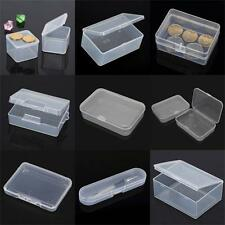 9Type Plastic Clear Transparent Storage Box Multipurpose Display Box Case Holder