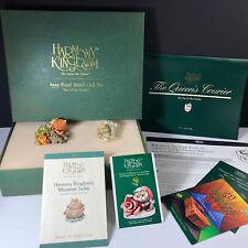 Harmony Kingdom 1999 Royal Watch club kit figurines Year of Garden box shell pin
