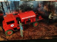 1/43 Trax Code 2, Late 1940's Chevrolet Blitz Wagon – Fire Fighting Tanker,Menai