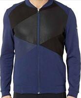 Asics Men's Tokyo Warm Up Jacket Top Navy Blue L Large NWT New
