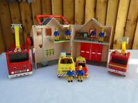 Fireman Sam Deluxe Fire Station Playset Plus Fire Engine Jupiter Figures & More