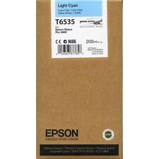 Original Epson T6535 Cian (Hell ) C13T653500 4900 Mhd 09/2020 A-Artículo