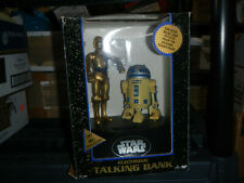 1995 ThinkWay  Star Wars Electronic Talking Coin Bank R2-D2 & C3-PO NEW IN BOX