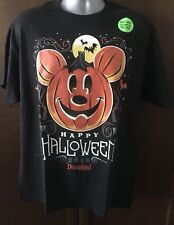 DISNEY PARKS DISNEYLAND RESORT HAPPY HALLOWEEN 2018 ADULT T-SHIRT LARGE NWT
