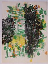 Lithographie pour la revue Derrière Le Miroir, Jean-Paul Riopelle, 1968
