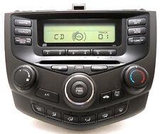 03 04 05 06 07 HONDA Accord Sedan CD Player Radio Stereo 2AC0 Manual Climate OEM