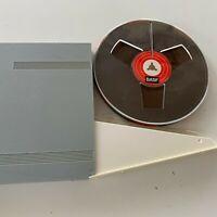 "BASF TP 18 Triple Play Reel to Reel 7"" 3600 ft Hard Plastic Storage Case"