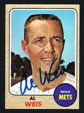 Al Weis #313 signed autograph auto 1968 Topps Baseball Trading Card