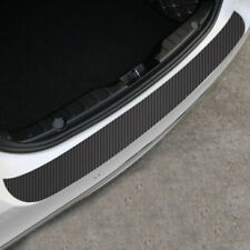 100×9cm Carbon Fiber Car Rear Bumper Protector Corner Trim Sticker Accessories