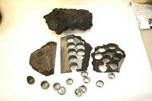 Genuine Meteorite Rings Blanks Finished or Unfinished A Piece of Heaven