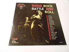 SHAKE  ROCK  RATTLE AND ROLL LP   BUDDY LUCAS LP VINYL  ORIG. ,REC.VG+