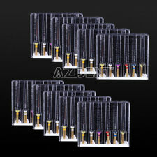 10Box Dental NITI Alloy Super Files Engine Use Heat Activated Canal Root 25mm UK