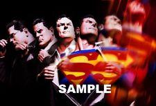 "Alex Ross Superman 8"" X 6"" foto impresión de animación DC Comics Super Man"