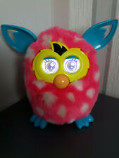 Furby Boom Pink White Polka Dots In Good Working Order