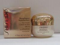 Shiseido Benefiance NutriPerfect Day Cream SPF15 1.7 oz. New In Box Sealed