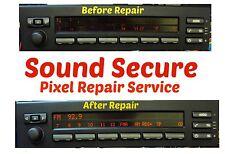 BMW E39 E53 ser Mid display screen  radio panel Pixel repair service