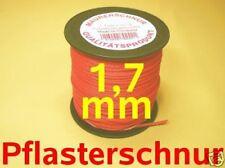 1,7mm hochwertige Pflasterschnur Maurerschnur 100m rot