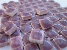100pcs - 110grams Micro Ceramic Mosaic Tiles Purple PB2
