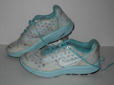 Nike Lunarswift 2 + Running Shoes, #443967-003, Mint/White,  Youth 4.5 Y