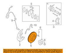 SUBARU OEM 03-07 Forester Front Brake-Disc Rotor 26300AE061