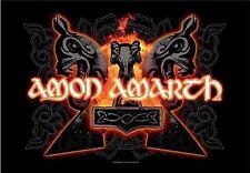 Amon Amarth-Hammers-Drapeau Poster drapeau Textile Poster Flag #920923