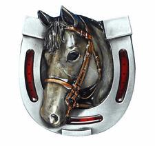 Horse Head & Shoe Belt Buckle