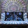 "2 Pcs. Set Of 24X24"" Indian Cotton Pillow Cushion Cover Bohemian Tie & Dye Throw"