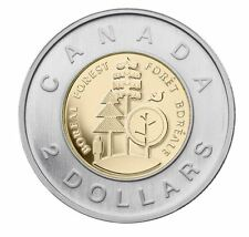 2011 PARKS CANADA BOREAL FOREST TOONIE UNCIRCULATED MINT SEALED UNC