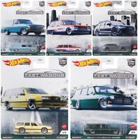 2021 Hot Wheels 1:64 Car Culture B Fast Wagons: VOLVO, AUDI, NISSAN, CHEVY 957B