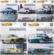 2021 Hot Wheels 1:64 Car Culture B Fast Wagons: Volvo, Audi, Nissan, Chevy 957B