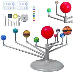 Astronomische Spielzeug Modell Sonnensystem Mit 9 Solar Planets Planeten 9435