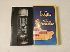 The Beatles - Yellow Submarine Film 1968 VHS 1999 Issue  ClamShell