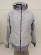 Volcom Cream & Lavender Technical Shell Ski/Snowboard Jacket Women's Size Small