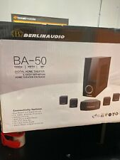 Berlin Audio BA-50 5.1 High Definition Digital Home Theater Package