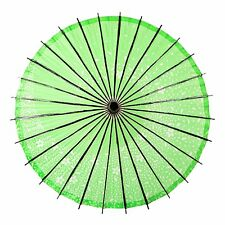 Wagasa - Ombrelle Japonaise / Japanese Umbrella - Sakura Storm (green)