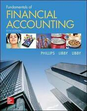 Fundamentals of Financial Accounting 5E by Patricia A. Libby, Fred Phillips,...