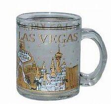 Las Vegas Nevada Glas Kaffeetasse Kaffeebecher 300 ml.,Souvenir Tasse USA