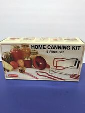 Back To Basics Home Canning Kit Five Piece Set In Original Box