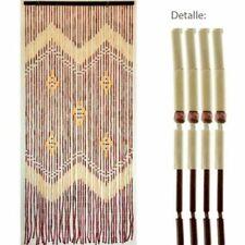 Cortinas y visillos de bambú