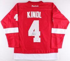 Jakub Kindl Jersey Signed Detroit Red Wings (PSA COA)